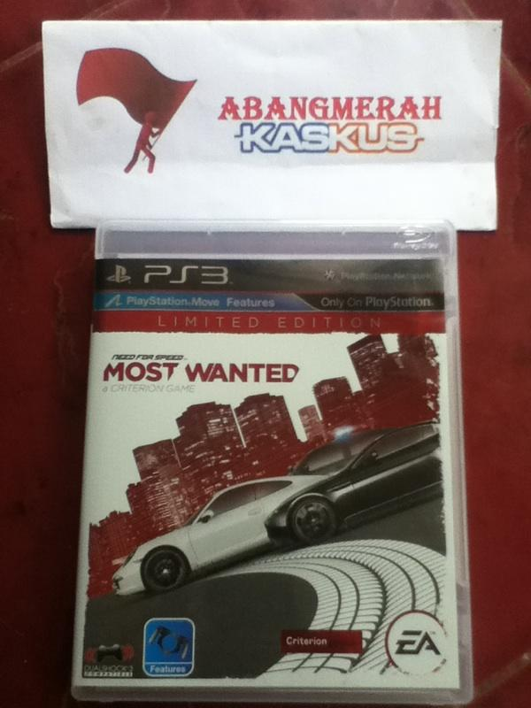 Need For Speed Most Wanted 'Limited Edition'