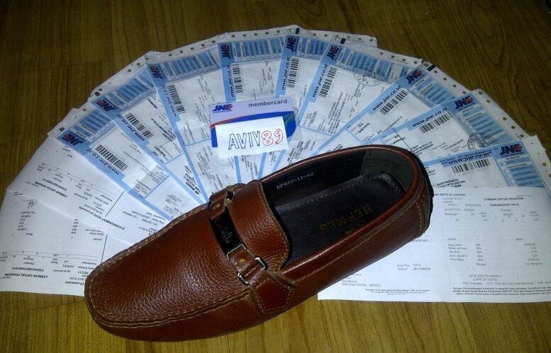 Sepatu Bruno Magli ITALY ORI size 41