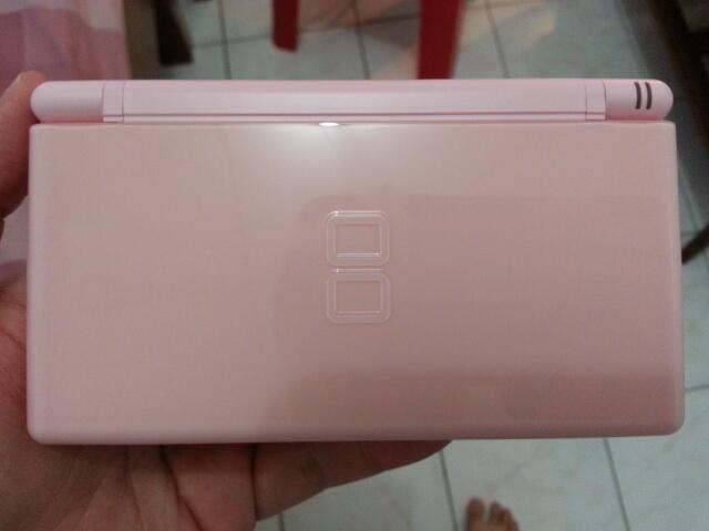 Jual Nintendo DS Lite Pink LIKE NEW