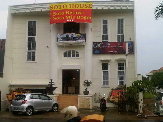 Di Jual Tempat Usaha / Rumah di BSD City Lokasi Dekat Eka Hospital