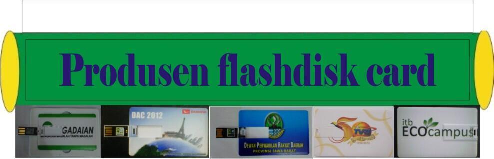 Terjual Produsen Flashdisk card  kartu...uniq untuk souvenir ... 44a0e502a7