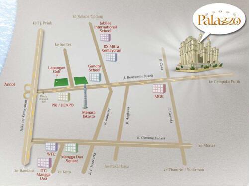 Dijual: Apartemen Grand Palace - Kemayoran