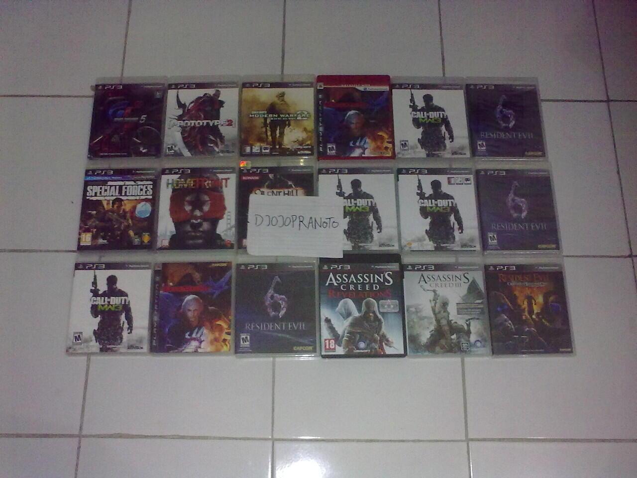 PS3 DMC 4,MW 2,3,Socom 4,Homefront,Sillenthill,Asasin Creed,R.Evil,Prototype 2,GT5