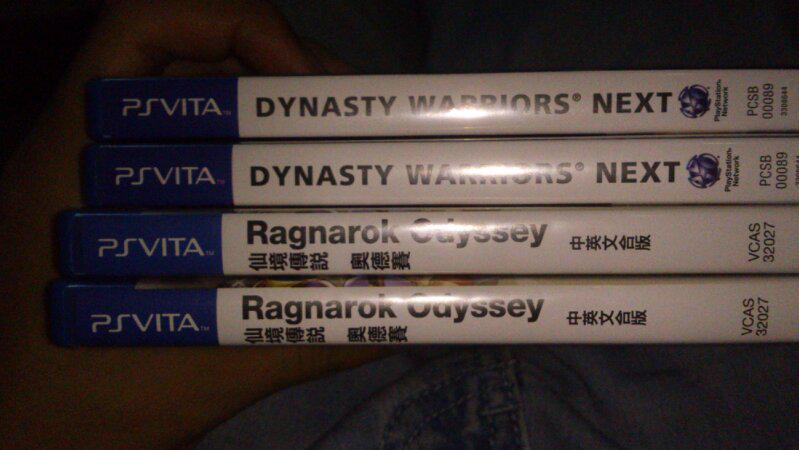 jual cartridge vita dynasty warriors next reg 2