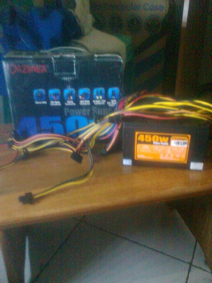 Mobo BIOSTAR G41D3+ & PSU Dazumba 450W mulus, normal...
