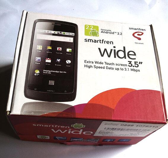 WTS: HTC Desire VC & aksesoris ZTE WIDE N880