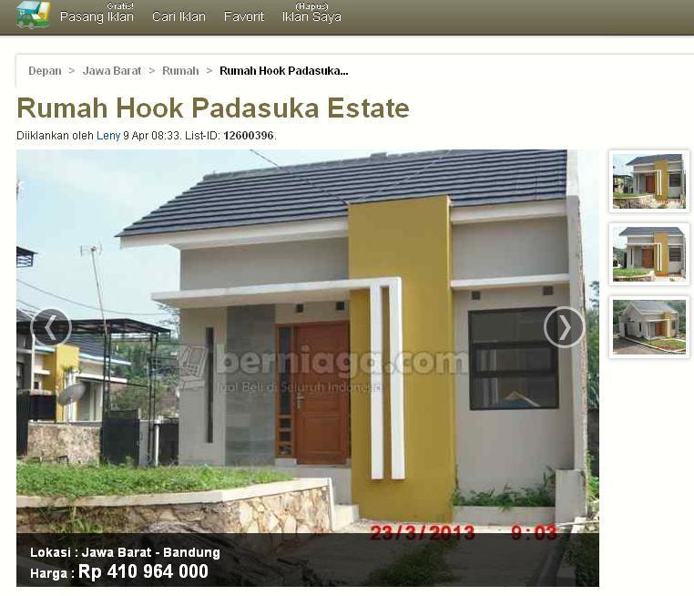 Rumah strategis di daerah Padasuka Bandung