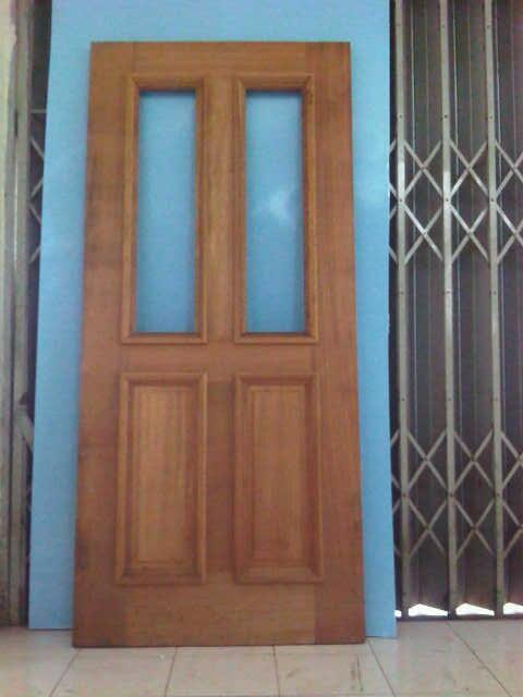 djual pintu panel kayu palapi kualitas Export
