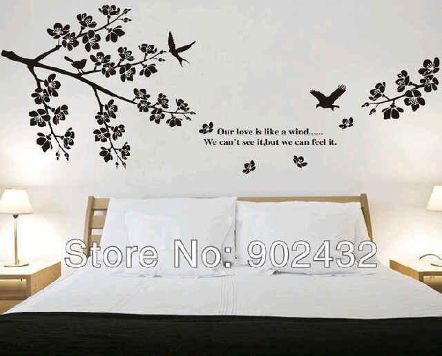terjual design interior bagus keren wall sticker di bandung cimahi