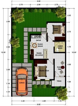 Rumah Minimalis Murah di Kuta Selatan Bali