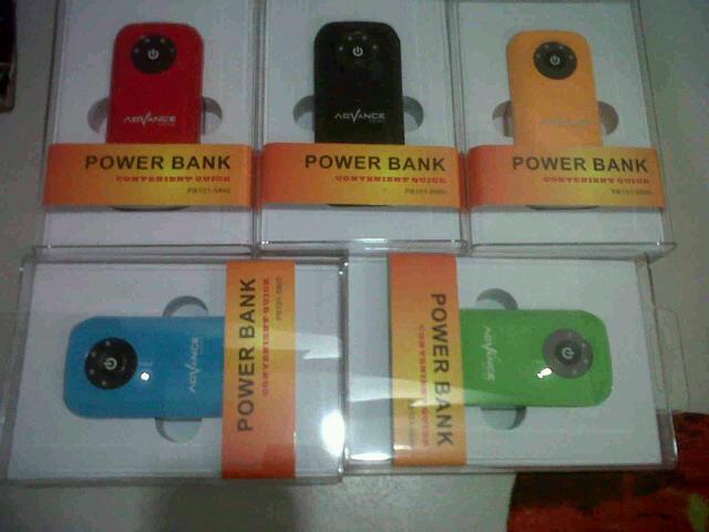 Powerbank Advance 5600mAh, 5800mAh termurah