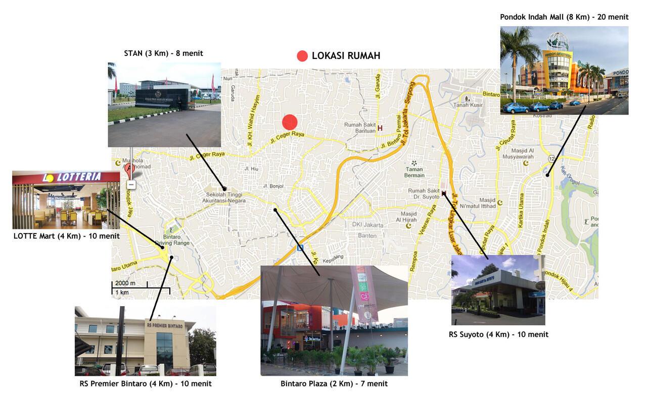 Rumah di Pondok Aren (Karya Indah Village)