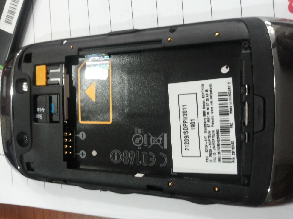 Blackberry Monza 9860 CTN
