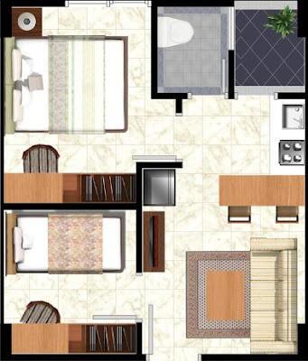 New apartemen the green pramuka