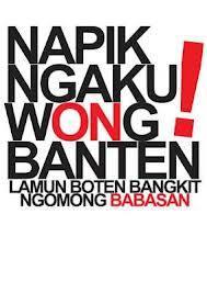 Bebasan Banten Bahasa Banten