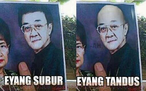 Eyang Subur lucu abisss bonus: poto istri eyang subur