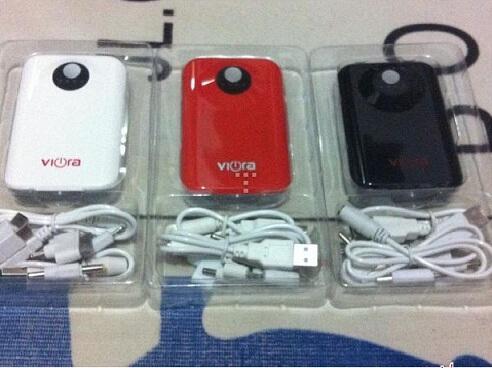 Powerbank Advance 8800mah, 5800mAh, Powerbank Viora 8400mAh & 5600mAh for Blackberry