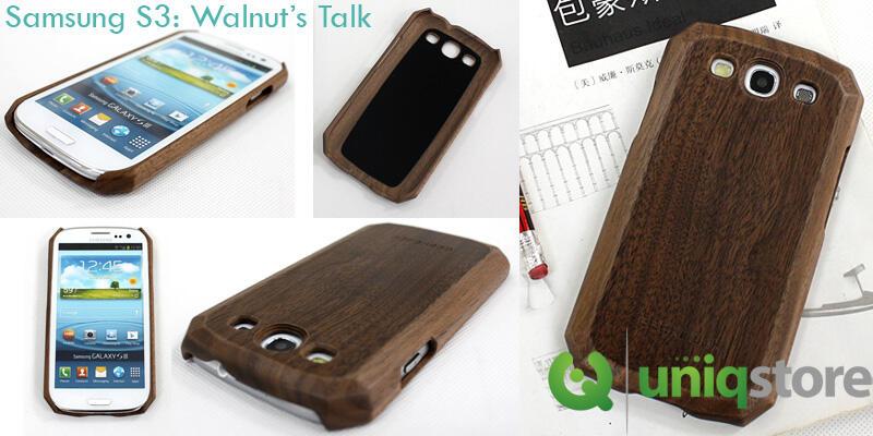 Jual BookBook Case & Walnut Talk Case for Iphone 4S/5 & Samsung S3