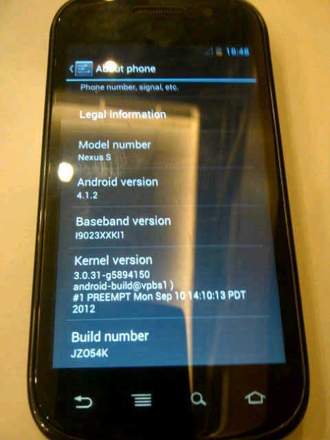samsung galaxy nexus s (i9023) android murah second