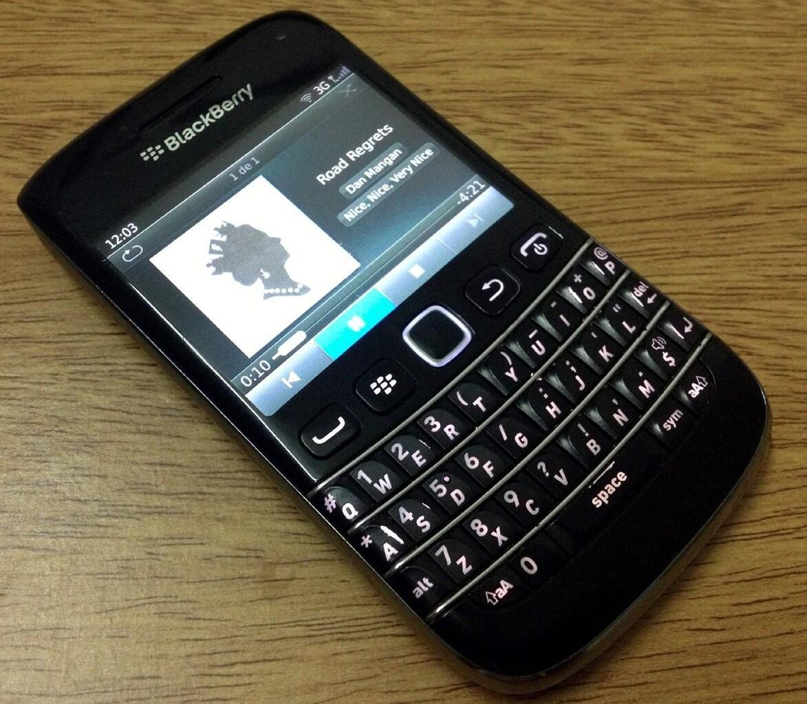 Blackberry Bellagio 9790 Black TAM Re Unit Gress