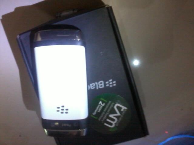 Blackberry Pearl 9105 3G Putih Masih Segel Tam Murah