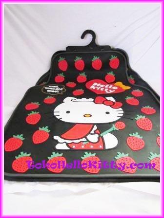 Aksesoris Mobil Hello Kitty | Sarung Jok Mobil Hello Kitty | Sarung Stir Hello Kitty