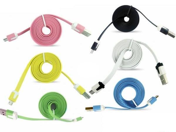 Cari Jual Kabel Data Pipih Gulung Untuk IPhone 3G 3GS 4G