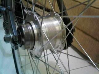 Wts sepeda Internal gear shimano nexus 7 speed