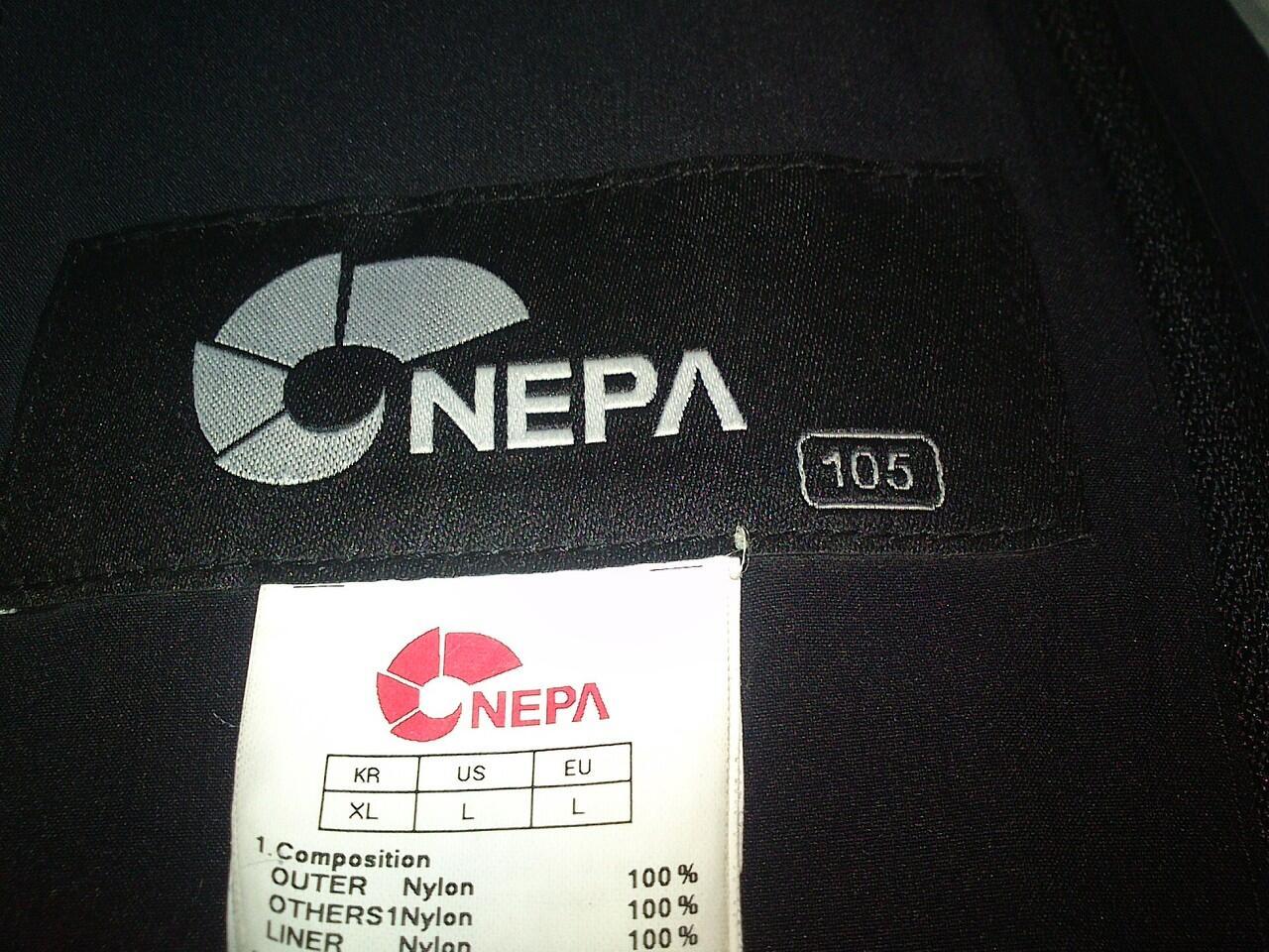 jaket gunung NEPA FULL SEAM SEALED waterproof