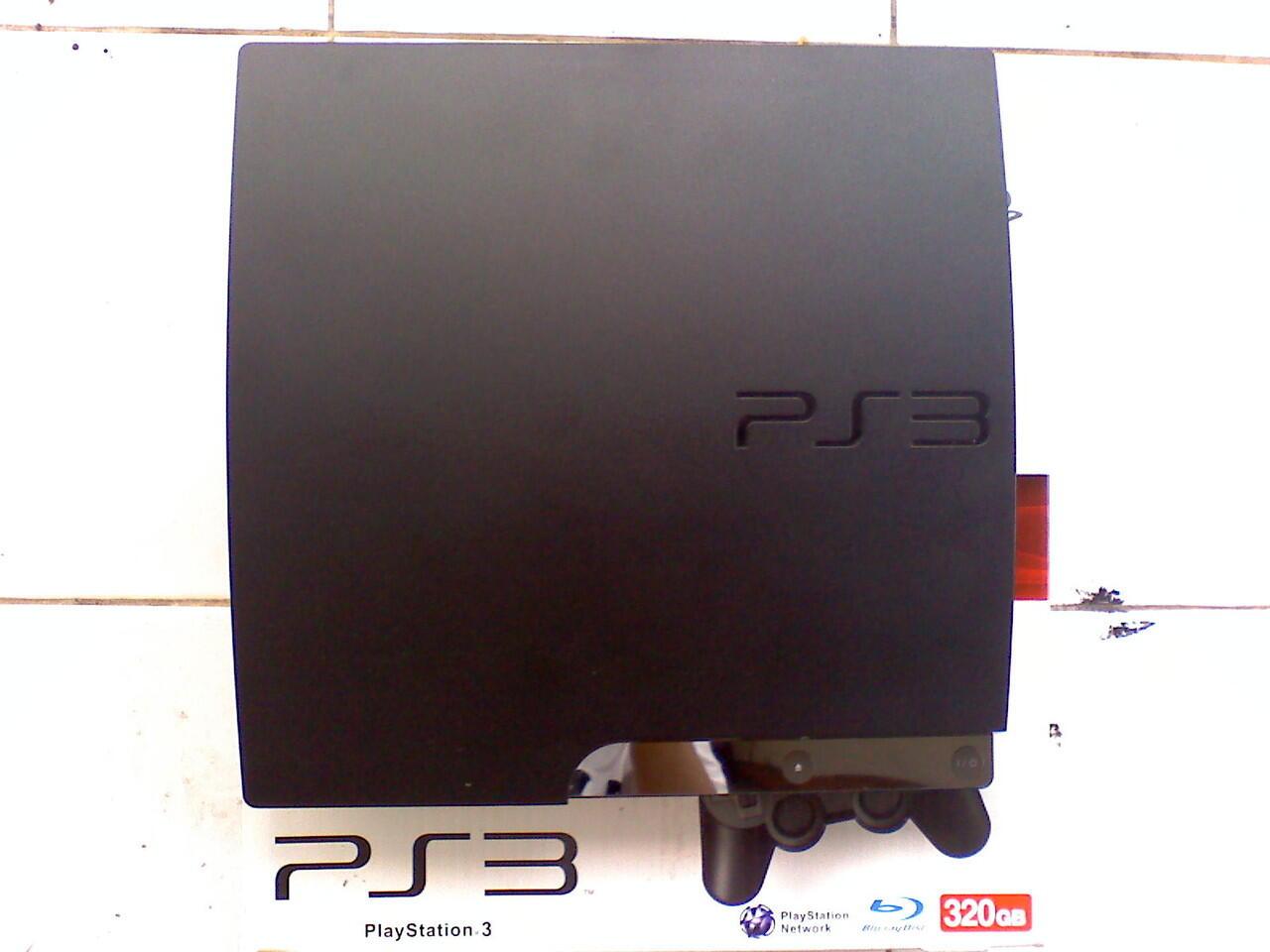 Terjual Jual Santai PS3 SLIM 320GB CFW 355 Hardisk