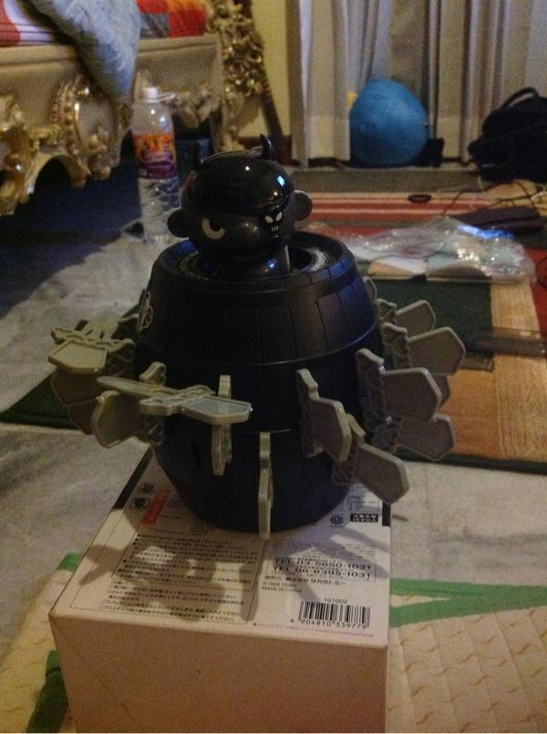 [BOARDGAME]rare!! Takara Tomy GHOSTLY GALLEON & POP UP PIRATE LOVE HIGE Japan edition