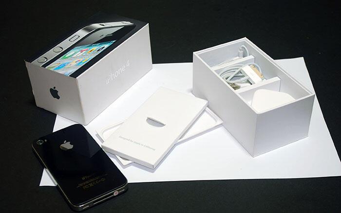 iPhone 4 16GB Black | GSM | FU | Fullset & Mulus | 2nd | JOGJA