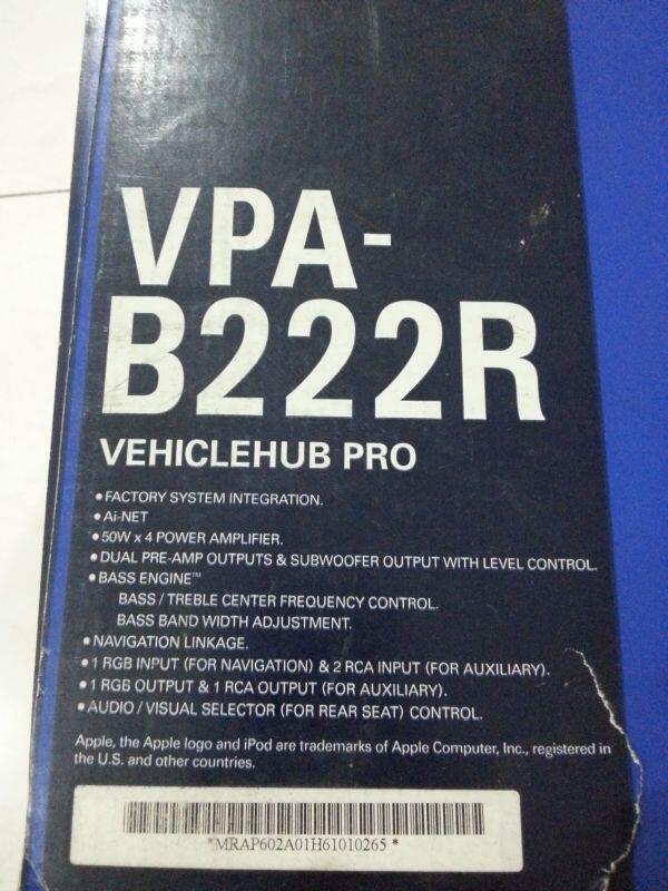 Jual Cepat Alpine VPA-B222R (Vehicle Hub Pro)