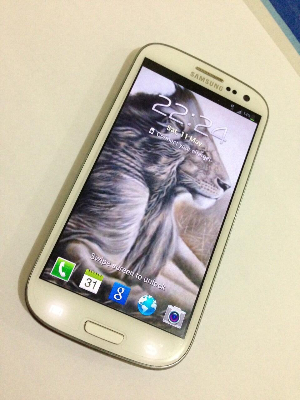 Samsung Galaxy S3 Marble White   Garansi & Murah !!