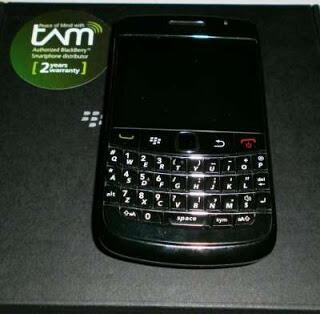 blackberry bold 9900 Dakota