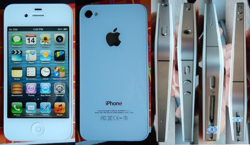 *** WTS: iPhone 4S 16GB White FU***