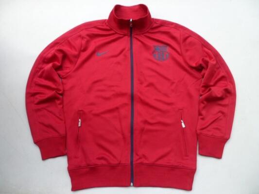 for sale jaket FC BARCELONA N98 MAROON SIZE L grade ori murmer cuma 1 !!