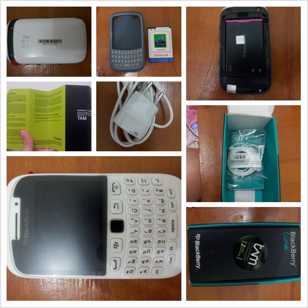 BB blackberry armstrong White 9320 baru 5hari garansi TAM