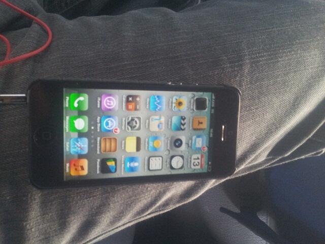Iphone 5 FU Black 16GB