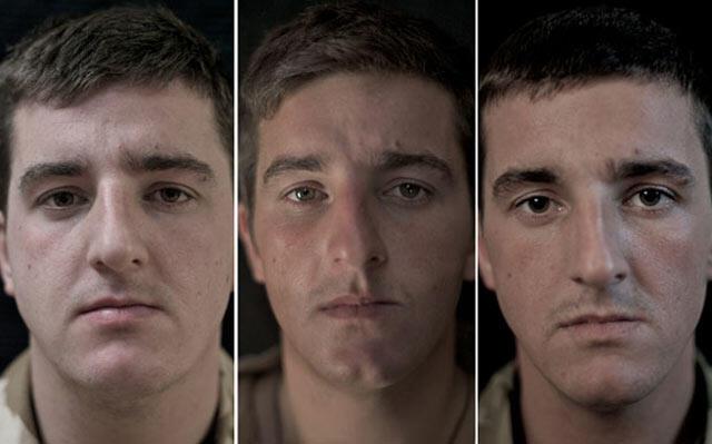 Potret Wajah Tentara AS Sebelum dan Sesudah Perang Afghanistan