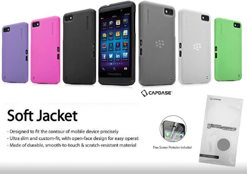 [READY STOCK] SOFTJACKET, HARDCASE, LEATHER CASE, FLIPCASE FOR BLACKBERRY Z10