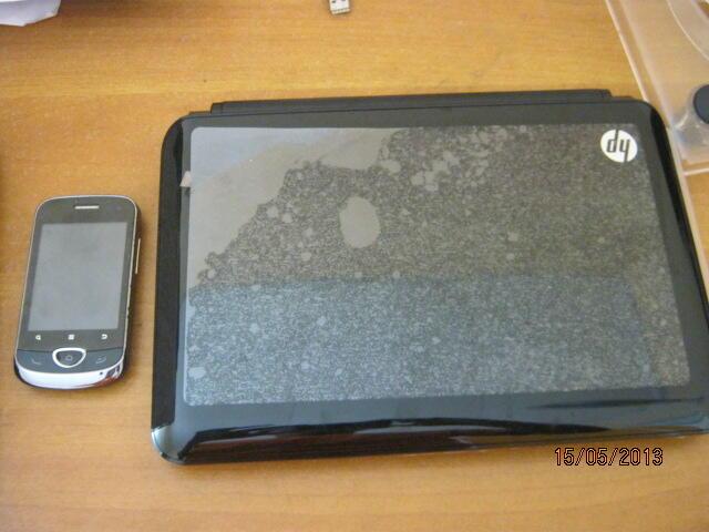Android zte racer II dan Netbook HP Mini
