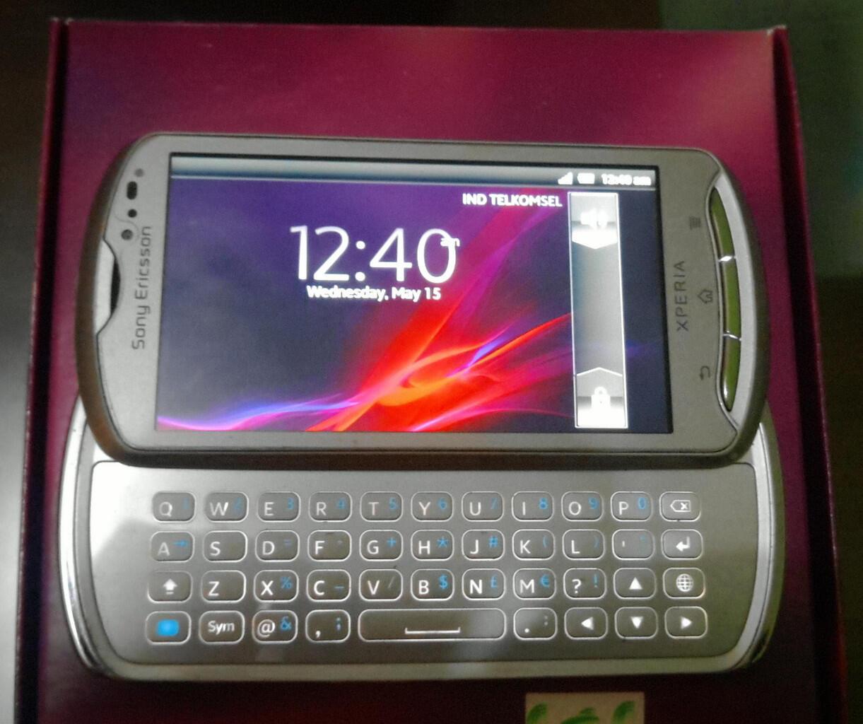 Jual Santai HP Sony Ericsson Xperia Pro MK16i second (BANDUNG),