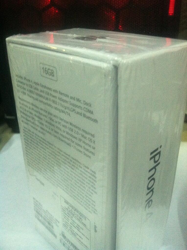 Jual iPhone 4 CDMA, White 16 gb, garansi resmi<Paling langka se-Surabaya