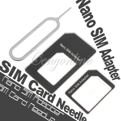 Jual Nano/Micro/Regular Sim Card Converter