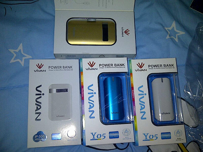 POWER BANK VIVAN Y05 dan IP-S06