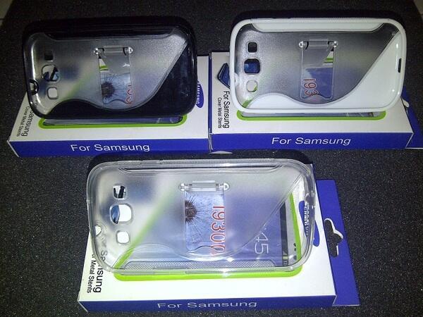 Aksesoris Samsung Galaxy S3 i9300 C-Pen dan Standing Softcase