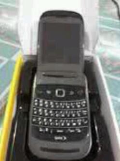 MURAH BLACKBERRY 9670 AKA STYLE ORIGINAL FULLSET BLACK N PURPLE BANDUNG