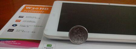 JUAL RAMOS W30HD, Samsung Exynos 4412 Quad Core, Mali 400 MP, 2GB DDR3, 32GB