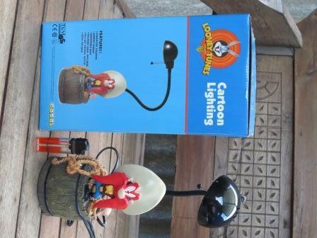 Lampu Belajar Looney Tunes Cartoon rare, langka, jual cepat murah nego